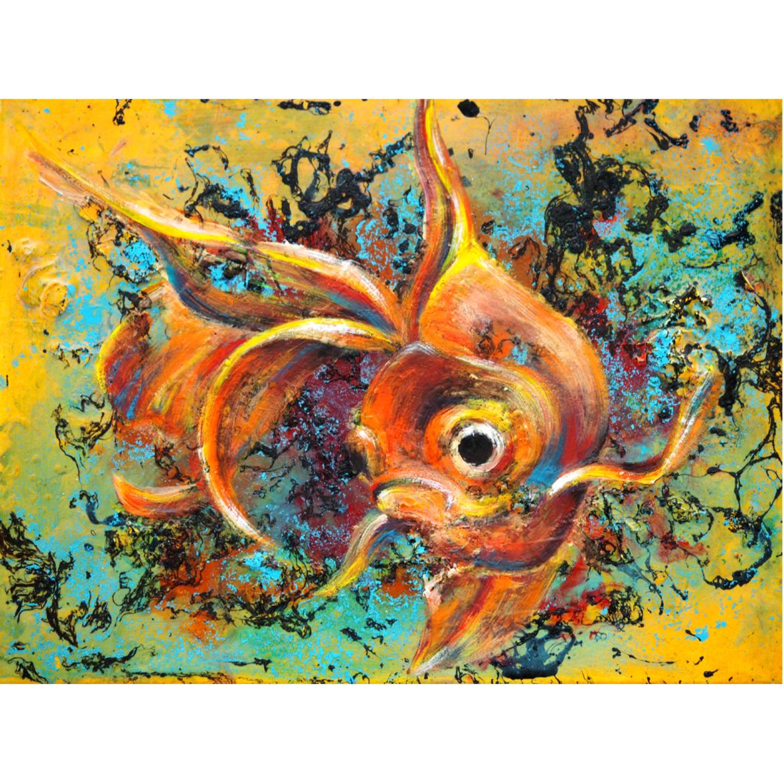 Golden fisch